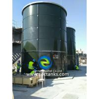 China Glass Lined Bolted Steel Sludge Storage Tank With Fast Construction Time on sale