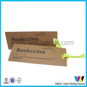 China Brown Kraft Printable Paper Tags on sale