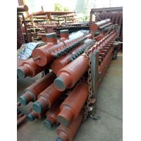 Quality Industrial Steam Boiler Manifold Headers , CFB Boiler Header With Longitudinal Welded Pipe for sale