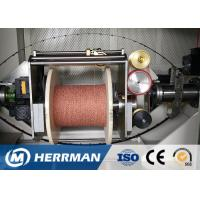 Quality 0 ~ 50% Angle Wire Cable Machine Dual Bobbin With Back Twist Double Twist Machine for sale
