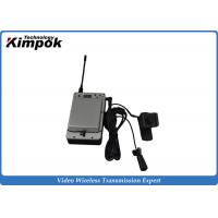 Buy Mini UAV HD Video Wireless Transmitter with LCD Display COFDM Wireless Video Link H.264 at wholesale prices
