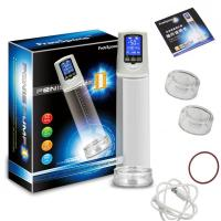Quality OEM Blue LCD display penis enlargement vacuum pump electric penis pump for sale