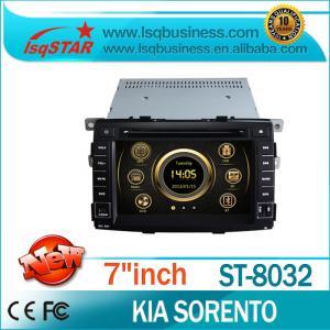 Quality Sorento KIA DVD Player 3G Wifi Built-In Phone Book GPS for sale