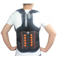 Quality Dual Pulley System Upper Back Support Brace Breathable With Rigid Taylor Vest for sale