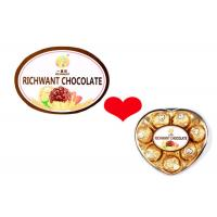 Quality Hot Stamping Chocolate Custom Food Labels With Full Color Printing for sale