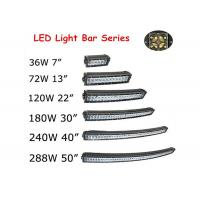 Buy 288W 50 Inch 4D Car Curved LED Light Bar Double Row 3000LM - 30000LM at wholesale prices