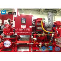 Quality High Precision Diesel Engine Driven Fire Pump 1000 Gpm @ 70m Schools Use for sale