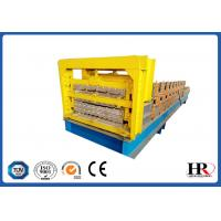 Quality Three Layer Roofing Panel Roll Forming Machine / Metal Tile Extrusion Line for sale