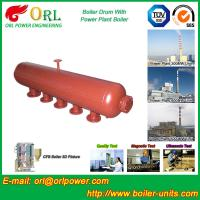 Buy Petrochemical industry solar boiler mud drum ASME certification manufacturer at wholesale prices