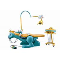 Quality Lovely cartoon pediatric dental lab chair special designed colorful unit for sale