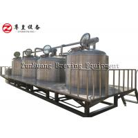 China 500L - 3000L Micro Beer Brewing Equipment For Micro Brewery and Beer Factory on sale