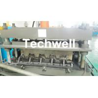 Quality 0.8-1.5mm Thickness Galvanized Steel Building Material High Speed Profile Deck Floor Cold Roll Forming Machine for sale