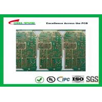 Quality PCB Design And Fabrication PCB Engineering 6 Layer Hard Gold Surface Treatment for sale