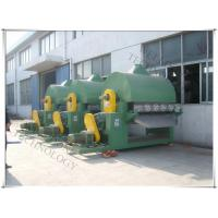 China Titanium Roller Dryer Machine , Industrial Hot Water Heating Rotating Drum Dryer on sale