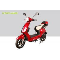 Quality Vespa Style 25-32km / H Pedal Assisted Electric Scooter Bicycle 250w-600w 48v Battery for sale
