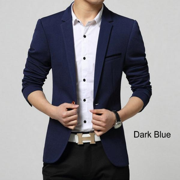 Buy Men Casual Blazer Suit Fashion Design Slim-fit Suit Good Quality Hot Sale ! at wholesale prices