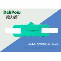 China 14.4V Sc350mAh NIMH Rechargeable Battery Pack 15510 Low Self Discharge on sale