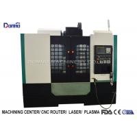 Quality 7.5 KW FANUC Spindle Motor Cnc Metal Milling Machine Automatic Lubrication System for sale