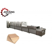 China 30 kw Efficient Middle Density Fiberboard Microwave Drying Equipment on sale