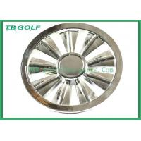 Quality 10 Inch Golf Cart Wheel Covers Chrome Hubcaps Wheel Covers For Club Car for sale