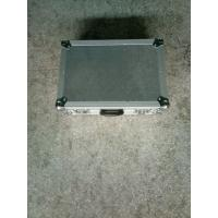 Quality 9mm Plywood And 1mm Thickness  Aluminum Tool Cases 50*50*25cm Silver Color No Wheels for sale