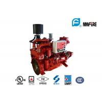 Quality High Precision Fire Diesel Engine For Fire Fighting Pump 60 KW Red Color for sale