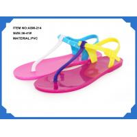 Quality Sell ladies PVC frashion slippers for 2013 ASM-214 36-41# for sale