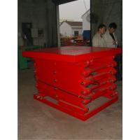 China Safe and reliable Electric stationary scissor lifts 300Kg - 5000Kg high load capacity on sale