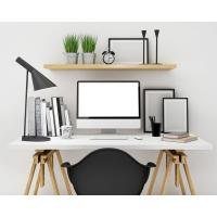 China 2018 Customized Modern office desk wooden white office table on sale