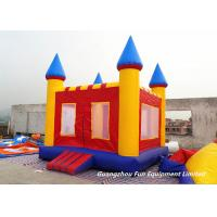 Quality Mini Inflatable Jump House Baby Bouncy Castle For Outdoor / Indoor Games for sale