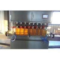 Quality SUS316 Sesame Oil Auto Filling Machine 1500bph CE ISO Certificated for sale