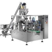 China Custard Powder Automatic Packing Machine , Vertical Granule Filling Machine For Pouch on sale