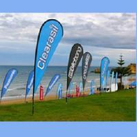 Buy cheap Outdoor Promotion Flying Banner/Feather Flags from wholesalers