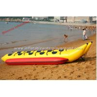 China Surfing Sports Boat Inflatable Towables , Double Lane Inflatable Boat Tubes on sale