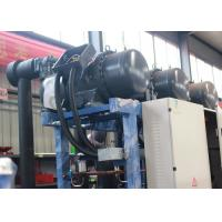 Quality Industrial Screw Water Cooled Condensing Unit  R404a / R22 Refrigerant for sale
