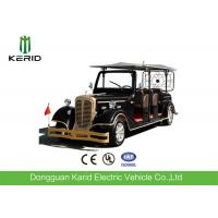Quality FRP Body 7.5KW Low Speed Electric Classic Vehicle 11 Seater Golf Cart For Sightseeing for sale