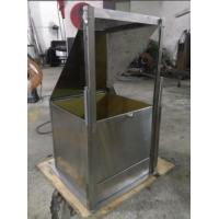 Quality Stainless Steel Flooring Materials Flammability Test Apparatus ISO 6925 BS 6307 for sale