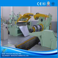 Quality PLC Control Steel Slitting Machine First Garde 25 Strips Blue Colour CE for sale
