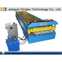 Buy cheap Steel Tile Roll Forming Machine With Hydraulic Control System For Fencing from wholesalers
