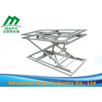 Quality High Efficiency Sofa Making Machine Smoothly Adjustable Rotary Scissor Lifting Table for sale