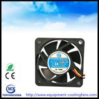 Quality 60mm x 60mm x 15mm dc 12V 24V CPU cooler accessories, battery cooling fan for sale