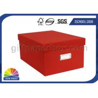 Quality Colorful Toy Storage Corrugated Carton Paper Box / Customized Cardboard Packaging Boxes for sale