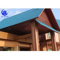 China Lightweight  Spanish ASA Synthetic Resin Roof Tile Prefabricated Houses Excellent decay resistance on sale