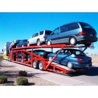 China Customized TITAN vehicle car carrier trailer Steel 2 Axles , 3 Axles on sale