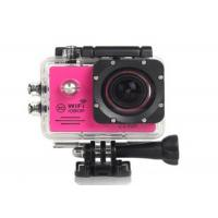 Quality Wireless action camera  Buit - in 900mah Rechargeable Battery sports video camera for sale