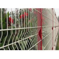 Quality 3 D Welded Folding Wire Mesh Fence / Bending Garden Security Fencing for sale