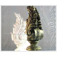 Resin Finial For Curtain Pole for sale