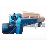 Quality High Speed Scroll Discharge Decanter Industrial Centrifuge Salt Chemical for sale