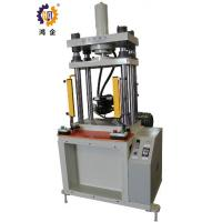 Quality PLC Control Industrial Hydraulic Press , 15T Four Column Hydraulic Press For Soft Material for sale