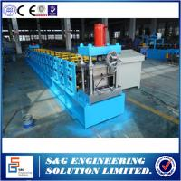 Quality China supplier used Fully automatic Interchange C/Z purlin roll forming machine in india manufacturers for sale